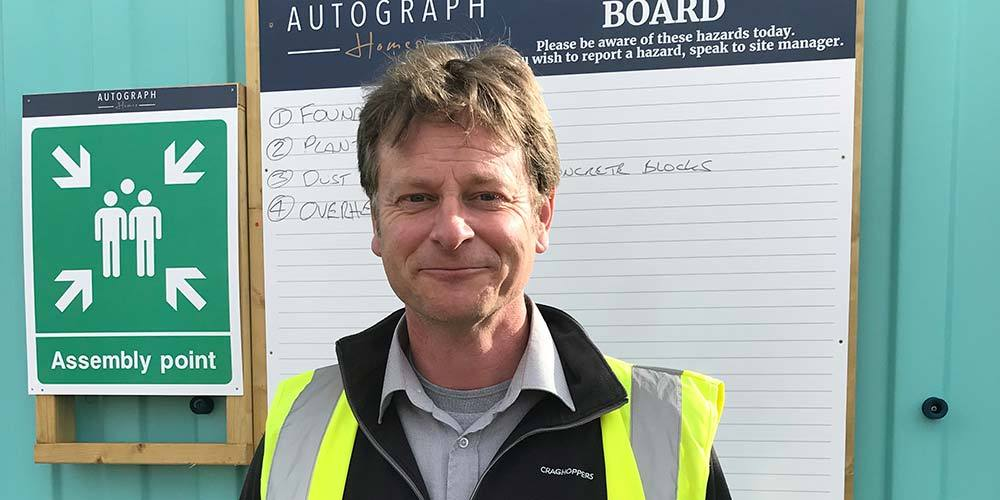 Steve Randall appointed as Site Manager